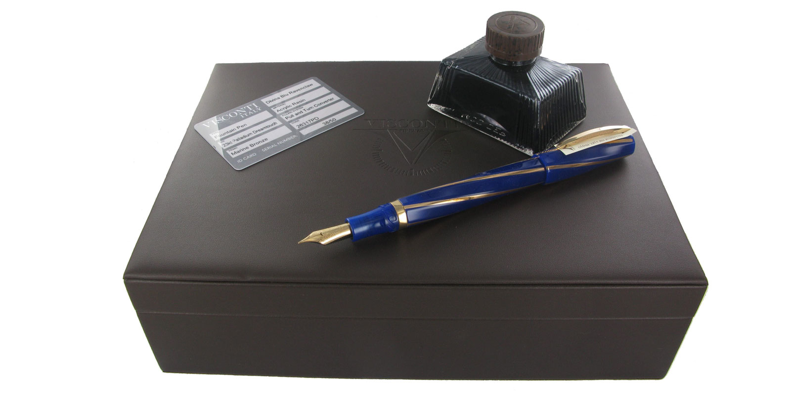 Divina-Ravenclaw-limit-on-box-with-brown-ink
