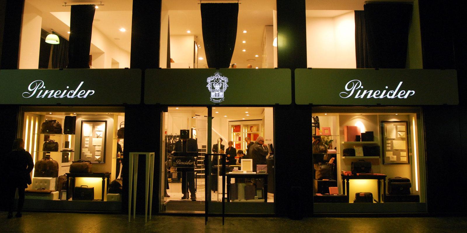 Pineider-store